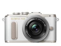 Olympus PEN E-PL8 + 14-42mm EZ Pancake Kit System, 16.1 MP, Image stabilizer, ISO 25600, Display diagonal 7.62 cm, Video recording, Wi-Fi, T Spoguļkamera SLR