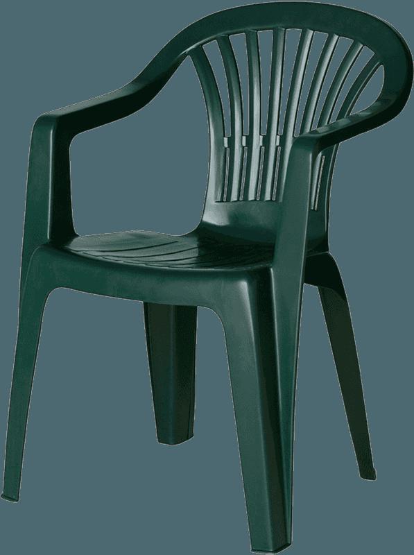 Krēsls plastmasas Altea zaļš Dārza mēbeles