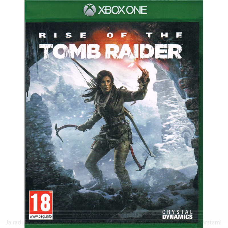 Microsoft XB360 RISE OF THE TOMB RAIDER