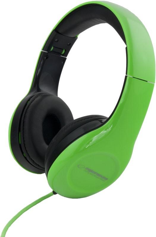 ESPERANZA Audio Stereo Headphones with volume control EH138G | 3m austiņas