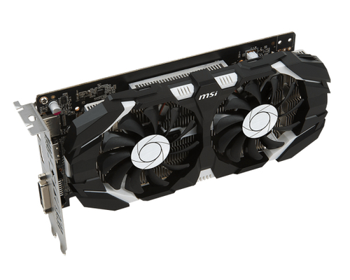 MSI GeForce GTX 1050 Ti 4GT OC, 4096 MB GDDR5 video karte