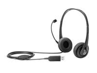 HP Inc. Stereo USB Headset New Retail austiņas