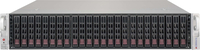Supermicro SuperChassis 2U 24x 2.5 Hot-swap HDDs bays