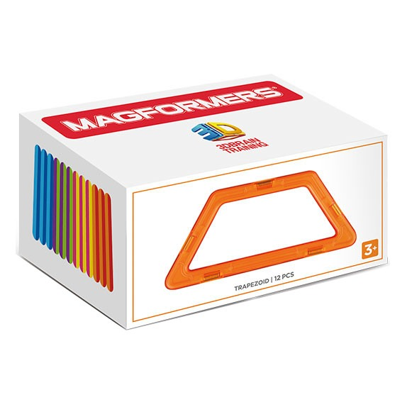 MAGFORMERS Trapezoid Set 12P konstruktors