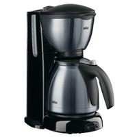 Braun KF 610/1 Sommelier Thermo Filterkaffeemaschine Edelstahl/Anthrazit Kafijas automāts