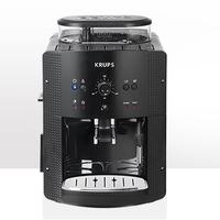 KRUPS Espresso kafijas automāts Roma, 15 bar, melna/hromēta EA8108 Kafijas automāts