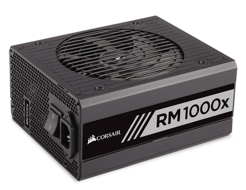 Corsair RMx Series RM1000x 1000W, 80 PLUS Gold, Fully modular, 135mm Barošanas bloks, PSU