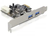 Delock card pci express -> 2x USB 3.0 +  LOW PROFILE karte