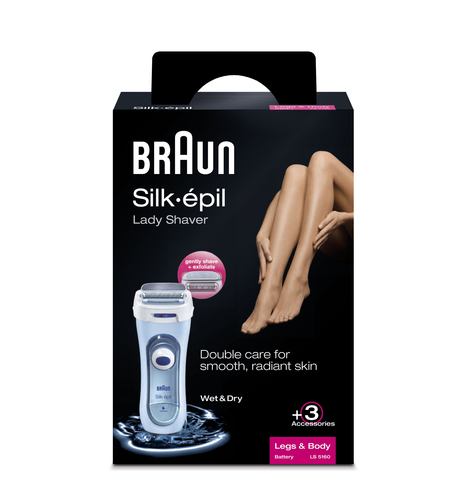Braun LS 5160 women's shaver Blue 1 head(s) Trimmer
