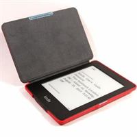 """C-TECH PROTECT """"hardcover"""" Case for Kindle PAPERWHITE with WAKE/SLEEP, red"" Elektroniskais grāmatu lasītājs"