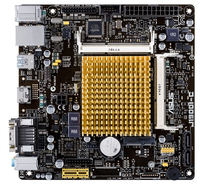 ASUS J1900I-C, Celeron J1900, DualDDR3-1333, SATA2, HDMI, D-Sub, mITX pamatplate, mātesplate