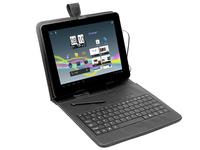 case for Tablet Tracer 7 '' Black+ keyboard micro USB biroja tehnikas aksesuāri