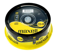 Maxell CD-R Music 700MB XL II cake 25   (628529) matricas