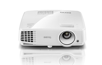 BenQ MS527 SVGA/4:3/3300Lm/800x600/13000:1/Zoom 1.1x/3D/Lamp 4500-10000h/VGA,HDMIx1,USBx1,RCA,RS232,S-Video in,Audio in-out/1.9kg/Speaker 2W projektors