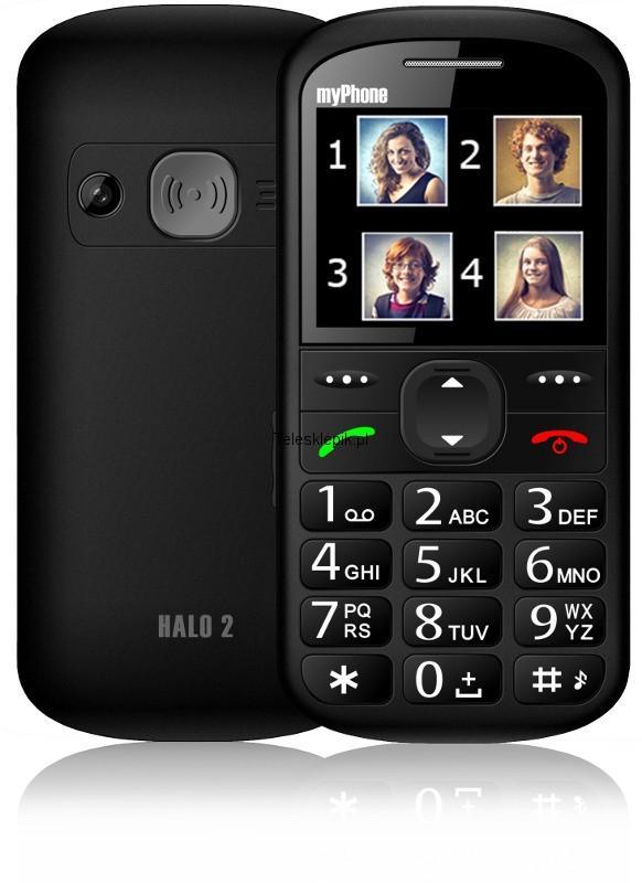 MyPhone HALO 2 black Mobilais Telefons