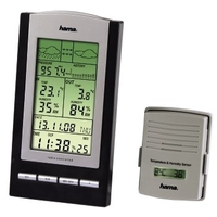 HAMA EWS-800 ELECTRONIC WEATHER STATION barometrs, termometrs