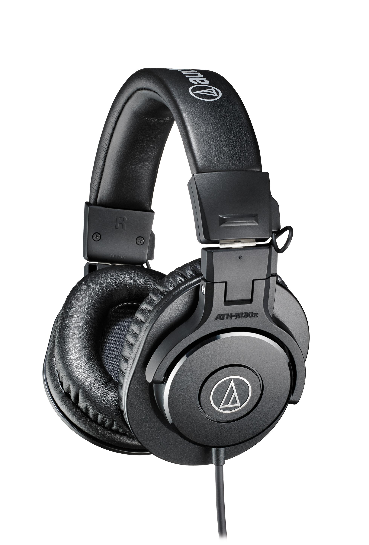 Audio Technica ATH-M30X Closed-back dynamic monitor Headphones austiņas