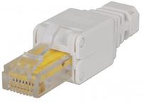 Intellinet Toolless modular plug RJ45 UTP Cat5e/6 for solid and stranded
