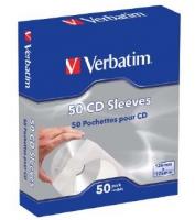 Verbatim CD Sleeves 50 pcs. In a box CD Sleeves 50pk, 50 discs matricas