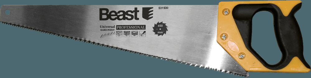 Beast Rokas z ģis 450mm ar rūdītiem zobiem Profi Zāģi