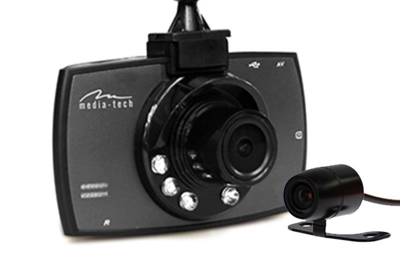 U-Drive DUAL MT4056 ( front + rear cam) videoreģistrātors