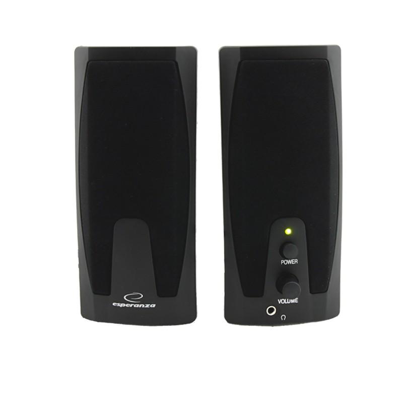 ESPERANZA Speakers 2.0 Giocoso EP110 - 2 x 3W datoru skaļruņi