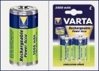 VARTA Rechargeable R14  3000mAh 2pcs Baterija