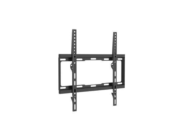 Equip LCD wall bracket 81-140cm (32''-55) fixed, 40kg, VESA max 400x400, black TV aksesuāri