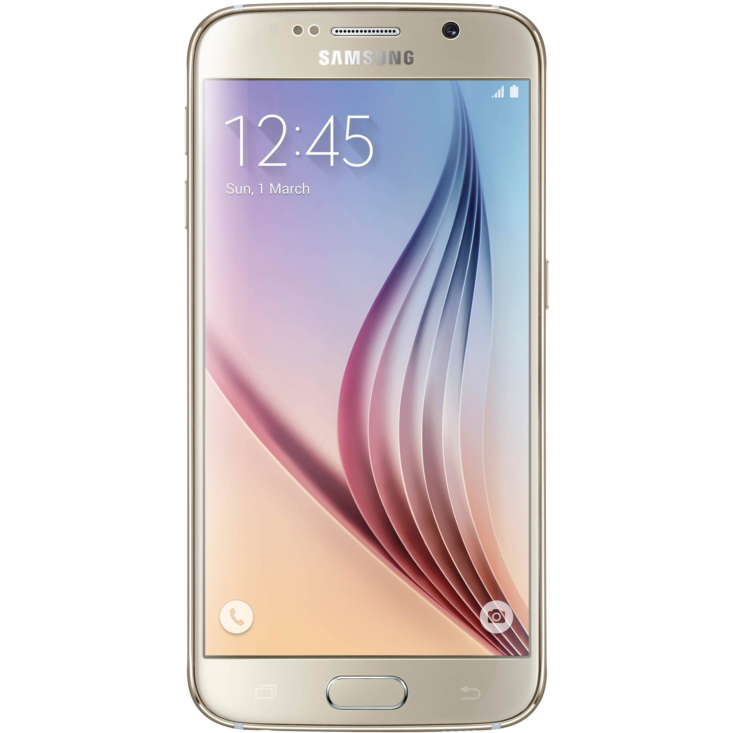 Samsung Galaxy S6 F 64GB Gold Mobilais Telefons