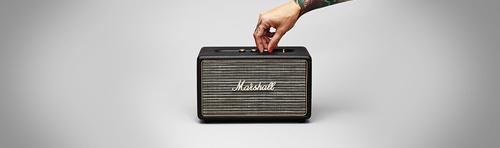 Marshall Acton Bluetooth Black pārnēsājamais skaļrunis