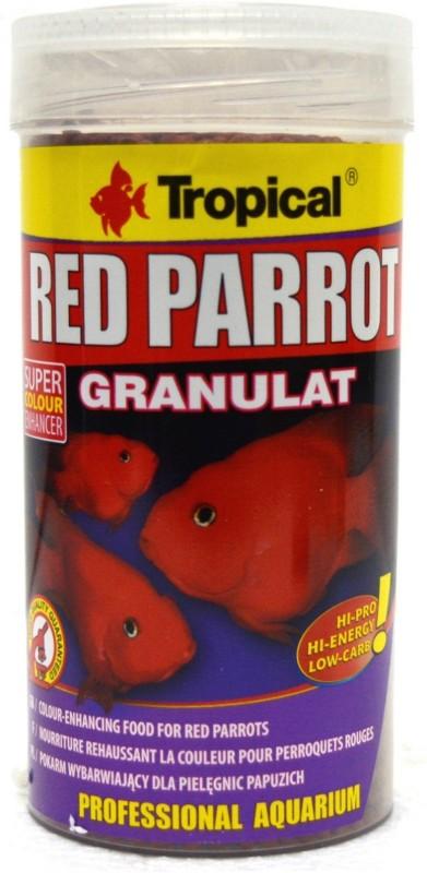 Tropical Red Parrot Granulat 250ml zivju barība