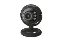 Trust SpotLight Pro webcam 1.3 MP 1280 x 1024 pixels USB 2.0 Black web kamera