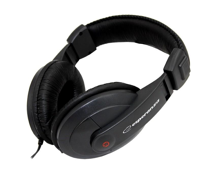 ESPERANZA Audio Stereo Headphones with volume control EH120 Reggae | 2m austiņas