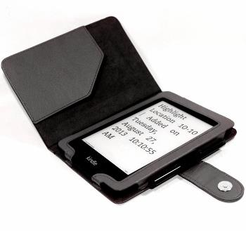 C-TECH PROTECT Case for Kindle PAPERWHITE with WAKE/SLEEP function, black Elektroniskais grāmatu lasītājs