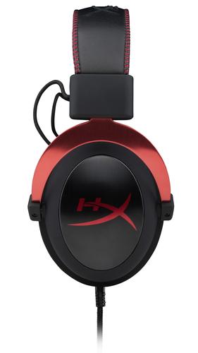 KINGSTON HyperX Cloud II Headset Red 7.1 Gaming austiņas