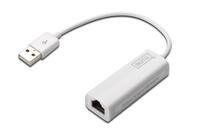 Digitus 10/100M Ethernet USB 2.0 Adapter adapteris