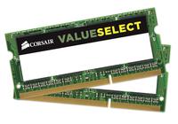 Corsair SODIMM DDR3 8GB (2x4GB) 1600MHz CL11 1.35V operatīvā atmiņa