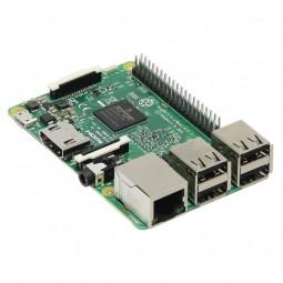 Raspberry Pi 3 Model B, SoC-Mini-Mainboard, 1,2 GHz, WiFi & BT pamatplate, mātesplate