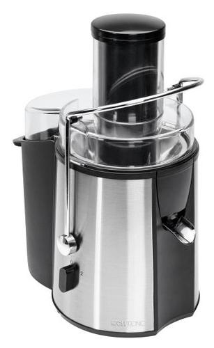Clatronic AE 3532 Professional Automatic juicer, Black/Inox Sulu spiede