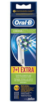 Braun Oral-B Toothbrush heads Cross Action 7er + 1 mutes higiēnai