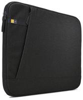 Case Logic HUXS115K universāl soma (Iekšējie izm. 38.5x26.7x3.1cm) portatīvam datoram līdz 15.6 coll m Melna portatīvo datoru soma, apvalks