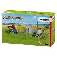 Schleich Schleich Farm World - Accessories - Feeding and grooming farm animals (42301) - 42301 spēļu aksesuārs