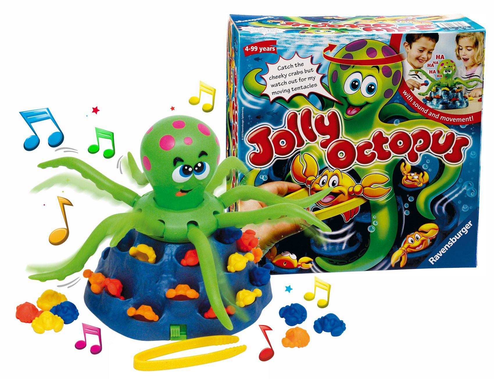 RAVENSBURG R Jolly Octopus(R22074) galda spēle