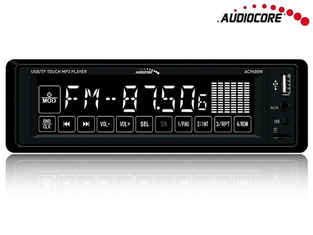Audiocore AC9600W Bluetooth handsfree automagnetola