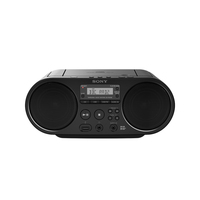 Sony ZS-PS55B black radio, radiopulksteņi