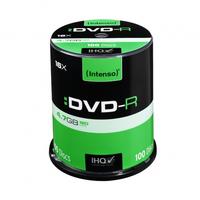 DVD-R Intenso [ cake box 100 | 4.7GB | 16x ] matricas