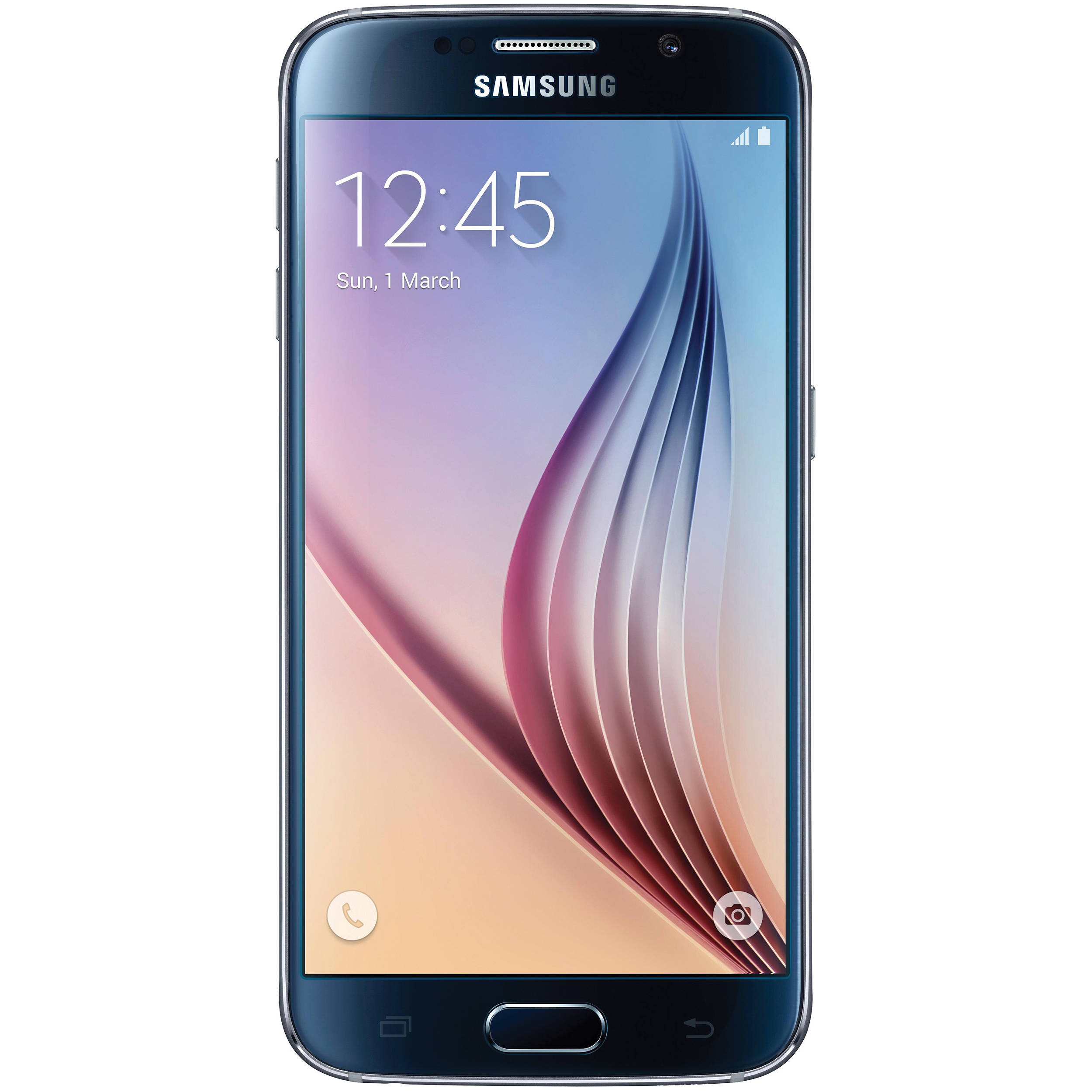 Samsung Galaxy S6 F 64GB Black Mobilais Telefons