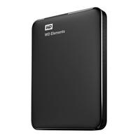 WD Elements USB3.0 1TB Black Ārējais cietais disks