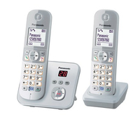 Panasonic KX-TG6822GS Duo Schnurlostelefon with AB + 2. Mobilteil telefons