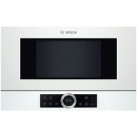 Bosch BFL634GW1 Built-In Microwave Oven Cepeškrāsns